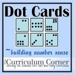 Free printable dot cards for number sense practice.  Help students link a visual with the operation!  Great for first and second grade!