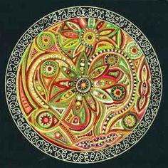 Divine Union- Sacred Art by Fiona Mackillop