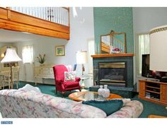 Living Room #Reading #PA #HomeForSale #RealEstate #Pennsylvania