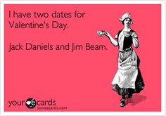 Captain Morgan can be our third Valentine.