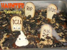 Halloween Brownies  l  www.lorisculinarycreations.com  l  #Halloween