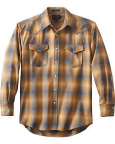 Pendleton Mens Tan Canyon Plaid Shirt , Tan 50s Style Men, Pendleton Shirts, Men Casual, Plaid Shirts, Mens Fashion, Mens Tops, Shopping, Google Search, Moda Masculina