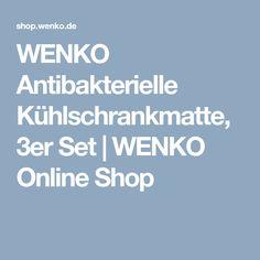 WENKO Antibakterielle Kühlschrankmatte, 3er Set | WENKO Online Shop