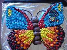 Butterfly Birthday cake, made by Janine Barr