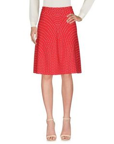ALAÏA Knee length skirt. #alaïa #cloth #