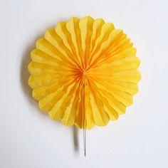 rosace alvéolée jaune