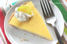 Fresh and tangy key lime pie recipe! - CherylStyle