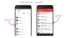 Η εφαρμογή του Google+ αλλάζει εμφάνιση ειδοποιήσεων! Galaxy Phone, Samsung Galaxy, Articles, Google