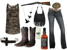 The purse really isn't me but i want the rest. (Country Clothes)