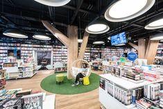 Panta Rhei & Cafe Dias Bookstore+caffee designed by at26_atrchitects