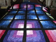 Quasar  Quilted by Sharon Spingler