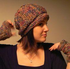 SAVE 10 DOLLARS  Womens Reversible Slouch Hat by mckelveydalton, $45.00