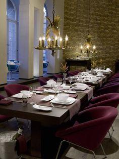 Protocolo en el restaurante. Diez claves para saber actuar en cada momento #protocolo #restaurante #buenasmaneras #mesa #Tableware