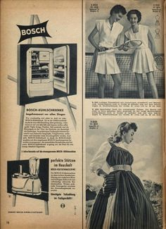 Love (!!!) the dress on the bottom right. #vintage #1950s #fashion #dresses