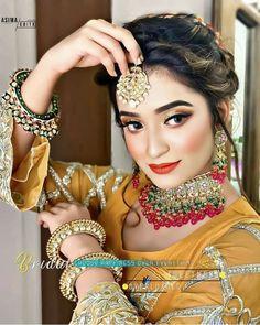 Bridal Makup, Cute Girl Photo, Girls Dpz, Wedding Wear, Girl Photos, Cute Girls, Glamour, How To Wear, Brides