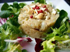 cauliflower puree / puré de coliflor
