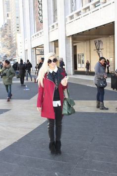 Street Style Fabulous at NYFW #nyfw #thestylebox #streetstyle