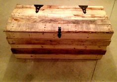 how to make a trunk out of pallets - Google Search