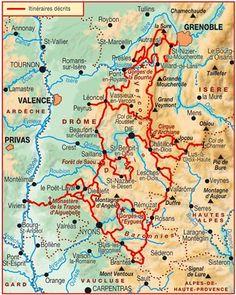 Topo-guide FFRandonnée 904 - Tours et traversées du Vercors, du Diois et des Baronnies