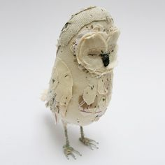 Ponsenby Owl CREAM by abigailbrown on Etsy, £182.00
