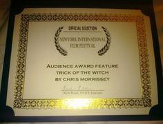 Trick of the Witch Movie Audience Award