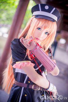 Cosplay Touken Ranbu Midare Toushirou: Thanh đoản kiếm khả ái | GameSao