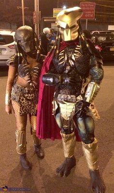 Mr. and Mrs. Predator Halloween Costume