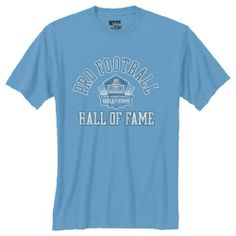 Pro Football Hall of Fame Gear Tailgate T-Shirt- Light Blue. Cli8ck to order! - $19.99