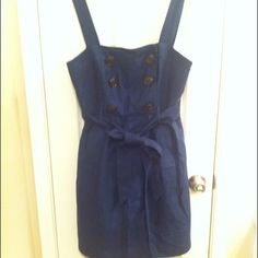 Milly dress accepting reasonable offers Beautiful dress navy in color.  In excellent condition! Gently used. Milly Dresses