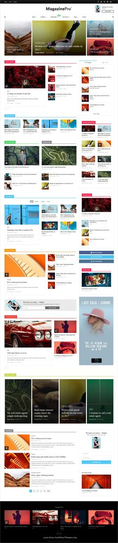 MagPlus is clean and modern design responsive #WordPress theme for creative #blog and #magazine website with 40+ unique homepage layouts to live preview & download click on Visit