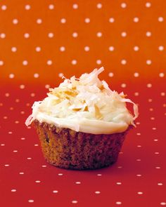 Carrot Cupcakes with Cream-Cheese Icing