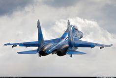 Ukraine - Air Force, Sukhoi Su-27UB 74 BLUE (cn 96310425069)