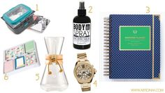 Ladies Gift Ideas - coffee - project life - organize