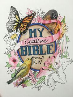 My Creative Bible More