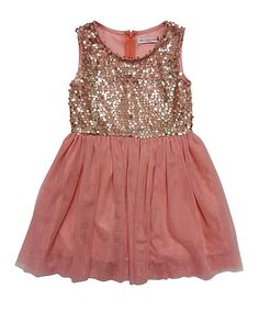 Kids Pink Tulle Sequin Fracis Dress ##zulily #ad *lovely