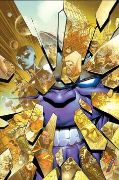 Thanos and the Marvel Universe