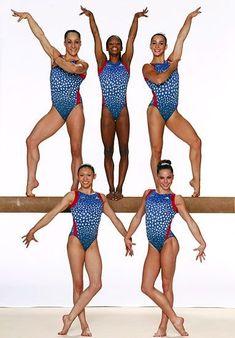FIERCE FINAL 5 RIO OLYMPICS  TEAM GOLD MEDAL