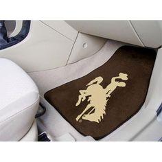 Wyoming Cowboys NCAA Car Floor Mats (2 Front)