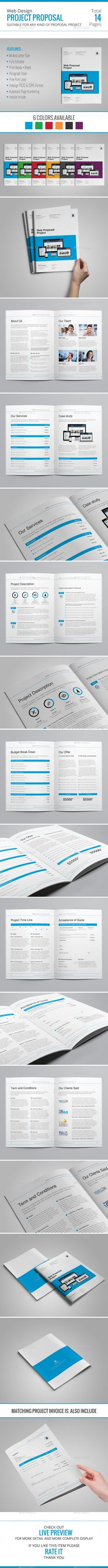 Official Proposal Template Sleman Clean Proposal Template  Pinterest  Proposal Templates .