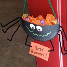 Spider Candy Holder | Crafts | Spoonful