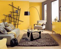 Farby do wnętrz: modne, żywe kolory do salonu  - zdjęcie numer 5