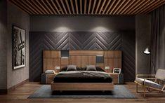 Bedroom Lamps Design, Bedroom False Ceiling Design, Master Bedroom Interior, Bedroom Closet Design, Bedroom Wall, Modern Luxury Bedroom, Modern Bedroom Design, Luxurious Bedrooms, Living Style
