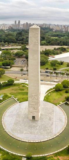 Obelisco do Ibirapuera - São Paulo - Brasil
