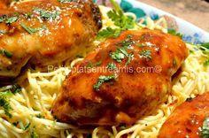 recette suprêmes de poulet à la moutarde et au sirop d'érable Tandoori Chicken, Meat, Ethnic Recipes, Food, Essen, Meals, Yemek, Eten