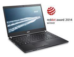 El portátil Acer TravelMate P645 recibe otro premio por su diseño: el galardón  Red Dot