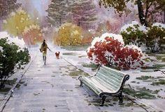 Ботанический сад, автор Илья Горгоц. Артклуб Gallerix