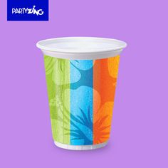 Aloha 160z Plastic Cup