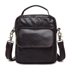 a6dfc8a28acb Cow Genuine Leather Messenger Bags Men Travel Business Crossbody Shoulder  Bag for Man FS2137