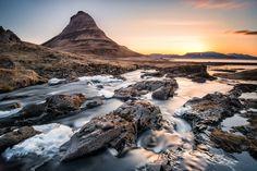 #Sunrise at Kirkjufellsfoss by Evgeny Tchebotarev on 500px #landscape #photography