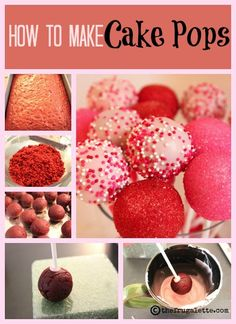 How to Make the Ultimate Cake Pops #cakepops #recipe #desserts